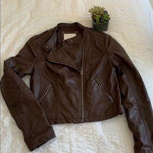 Xhilaration moto leather jacket